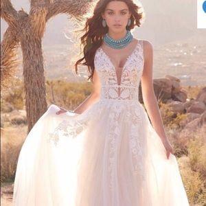 Morilee Blu Rosa wedding gown